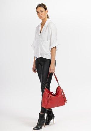 ADELE - Handbag - red