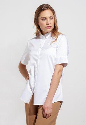 MODERN CLASSIC - Button-down blouse - white