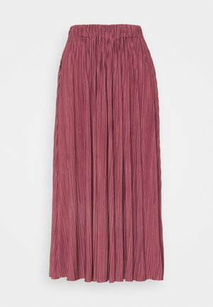 UMA SKIRT - Plisséskjørt - dark powder pink
