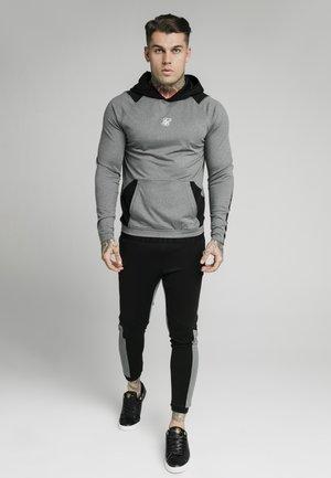 ENDURANCE OVERHEAD HOODIE - Camiseta de manga larga - grey/black