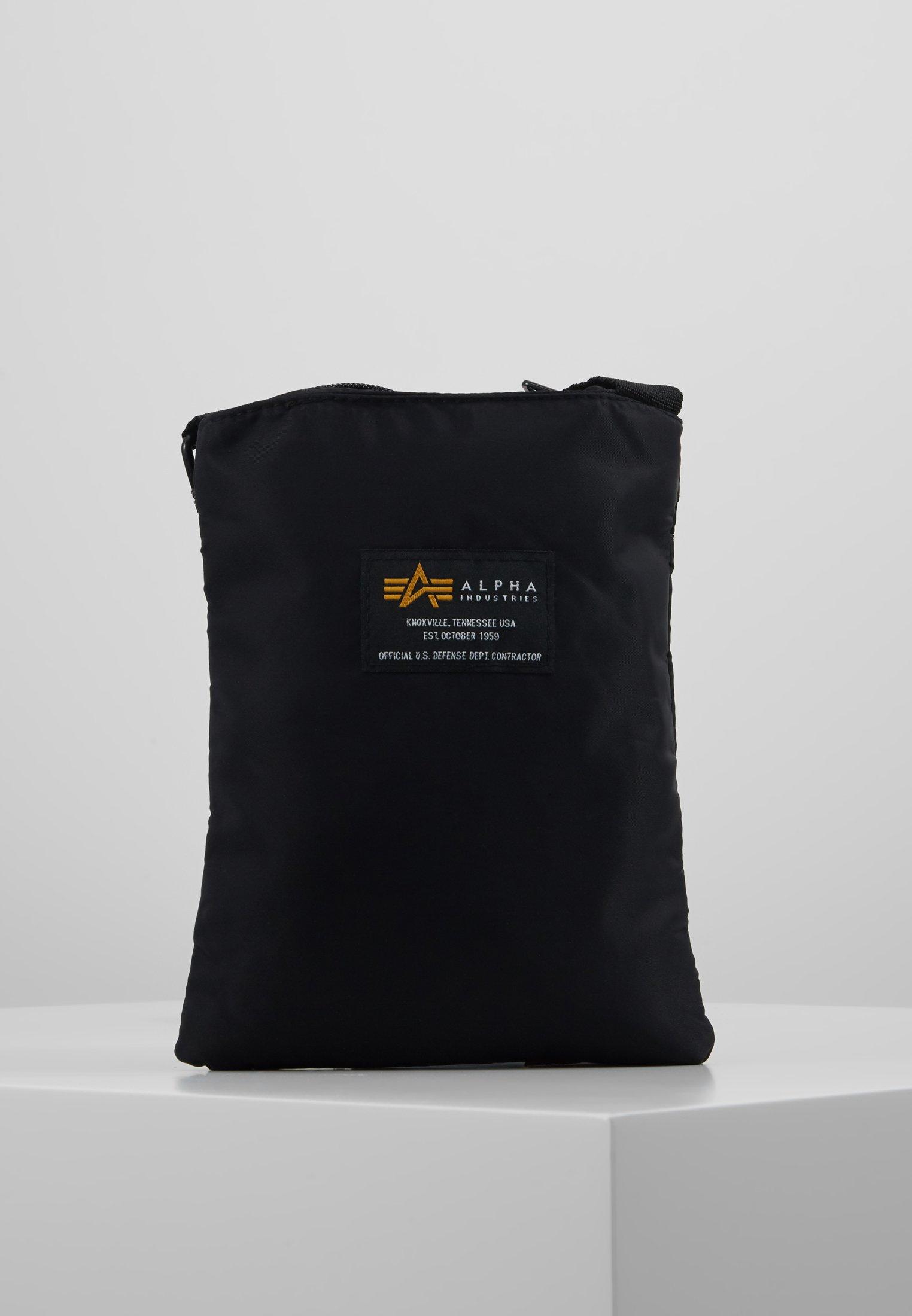Alpha Industries Crew Messenger Bag - Torba Na Ramię Black
