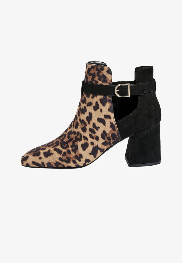 Ankle boot - multi-coloured
