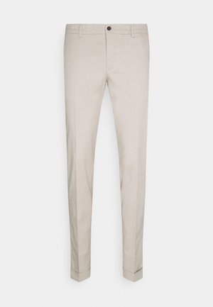 GRANT STRETCH PANTS - Broek - sand grey