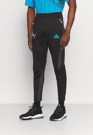 C9 TRACK PANT - Teplákové kalhoty - black