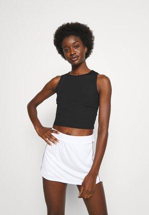 CROP TANK - Top - black beauty
