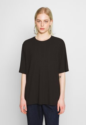 GILL - Basic T-shirt - black dark