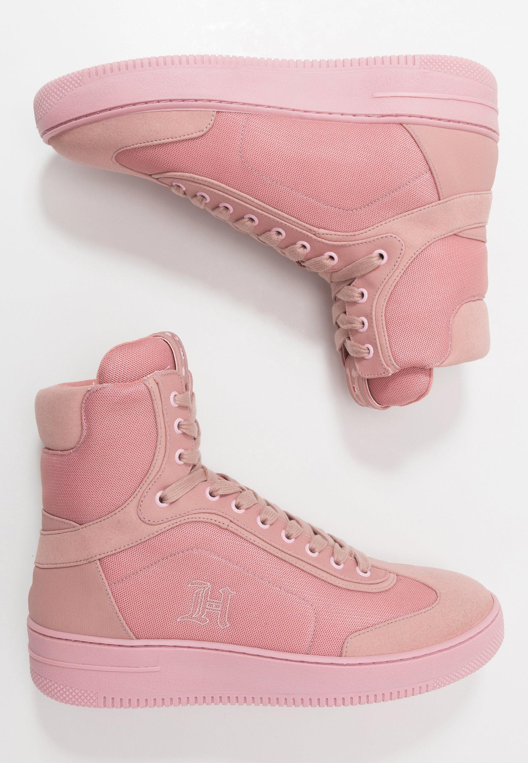 LEWIS HAMILTON MODERN HIGH TOP SNEAKER Höga sneakers pink