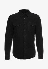 WESTERN - Shirt - black