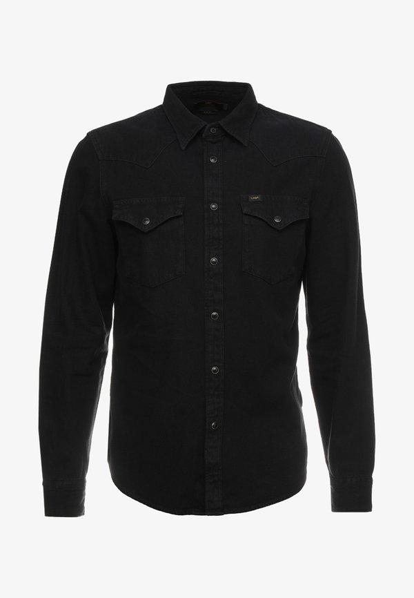 Lee WESTERN - Koszula - black/czarny Odzież Męska KNDV
