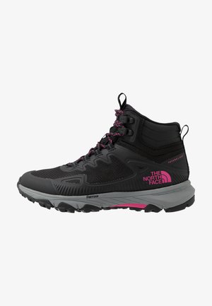 WOMEN'S ULTRA FASTPACK IV MID FUTURELIGHT - Hiking shoes - black/mr. pink