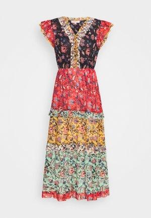 SAGESSE DRESS - Maxi dress - black/red