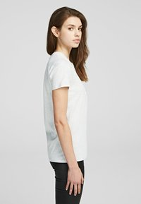 KARL LAGERFELD - Camiseta básica - light grey melange - 3