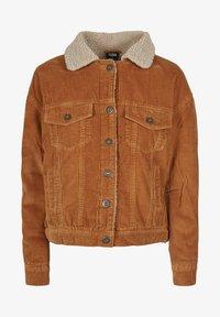 Urban Classics Curvy - Light jacket - toffee/beige - 2