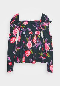 Who What Wear - EMPIRE RUCHED - Blouse - roses - 4