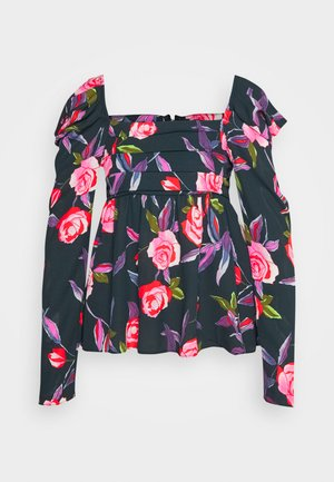 EMPIRE RUCHED - Blouse - roses