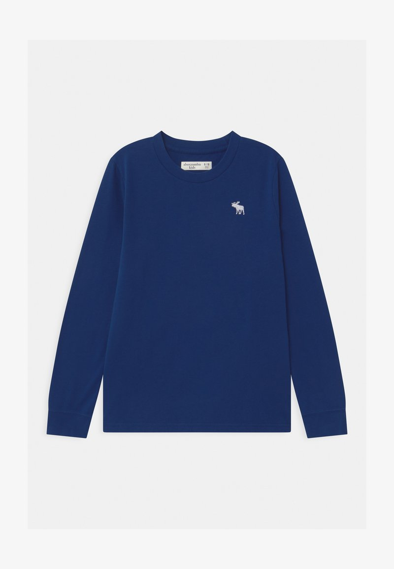 Abercrombie & Fitch - BASIC  - Long sleeved top - blue