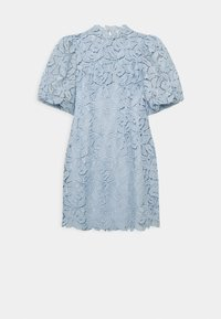 Forever New - PUFF SLEEVE MINI DRESS 2-IN-1 - Cocktail dress / Party dress - blue - 0