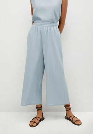 Spodnie materiałowe - sky blue