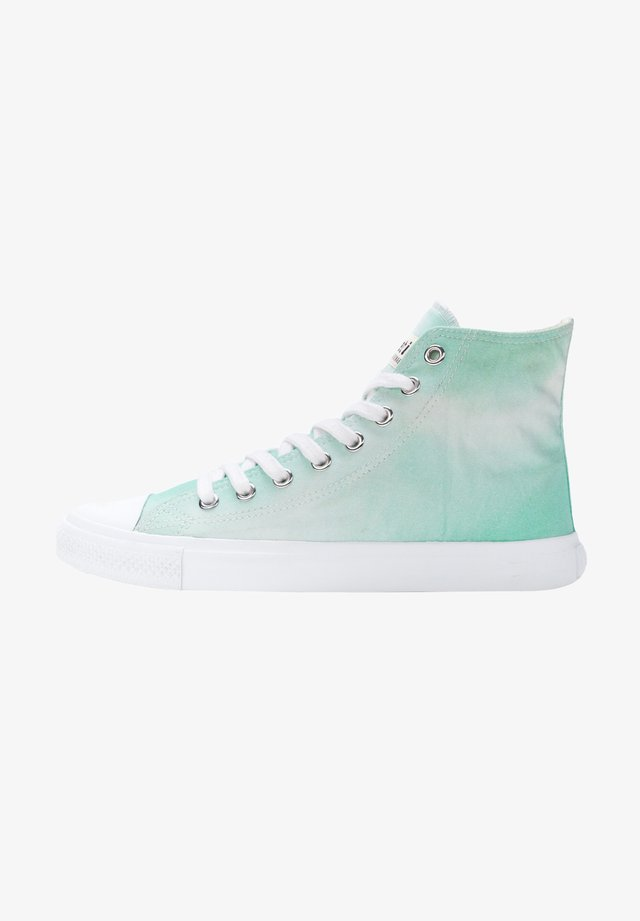 High-top trainers - water