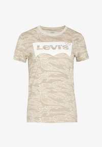 Levi's® - THE PERFECT TEE - T-shirts med print - beige - 3