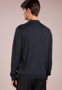 Polo Ralph Lauren - PLACKET - Svetr - dark granite heat - 2