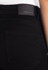 Vero Moda - VMSEVEN - Trousers - black - 4
