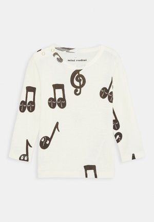 BABY NOTES GRANDPA UNISEX - Long sleeved top - offwhite