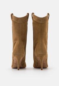 Pura Lopez - Cowboy/Biker boots - beige - 3