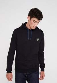 PS Paul Smith - HOODED DINO - Huppari - black - 0