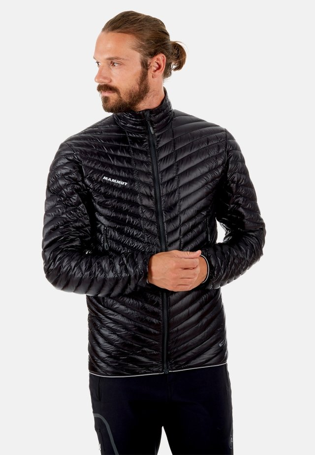 BROAD PEAK LIGHT - Down jacket - black-phantom