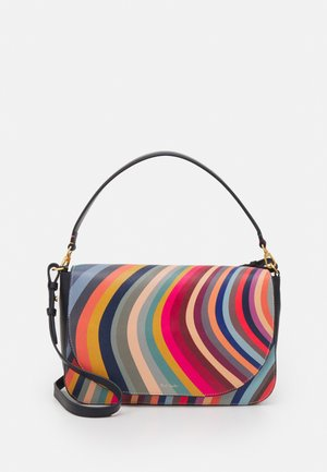 WOMEN BAG MED SADDLE - Handbag - multi-coloured