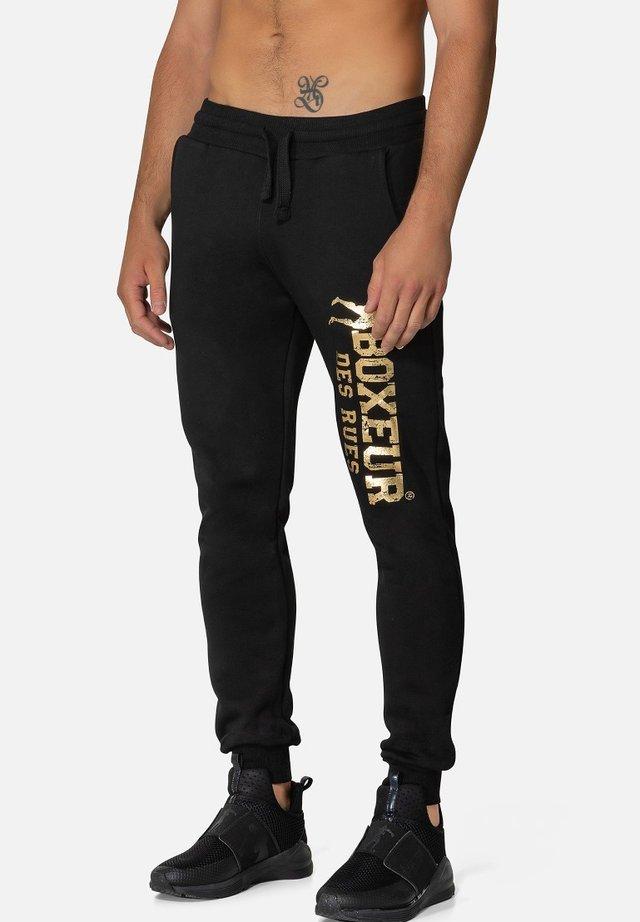 Pantaloni sportivi - oro nero