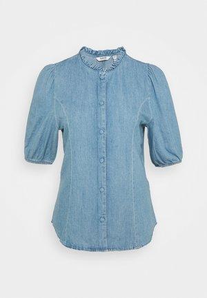 JANCY  - Button-down blouse - light-blue denim