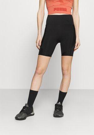 TRAIN FLAWLESS SHORT - Tights - black