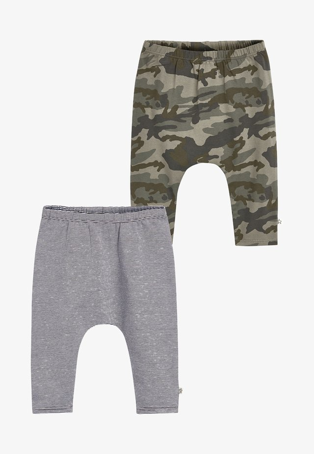 2PACK - Leggings - Trousers - green