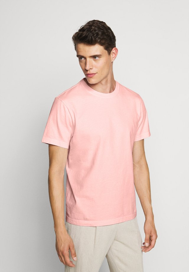 HERITAGE TEE - T-shirt basique - pink