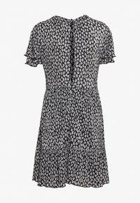 NAF NAF - Denní šaty - noir/ecru - 1