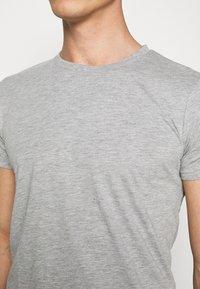 LTB - 2 PACK  - Basic T-shirt - grey mel/grey mel - 5