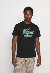 Lacoste - Print T-shirt - black - 0