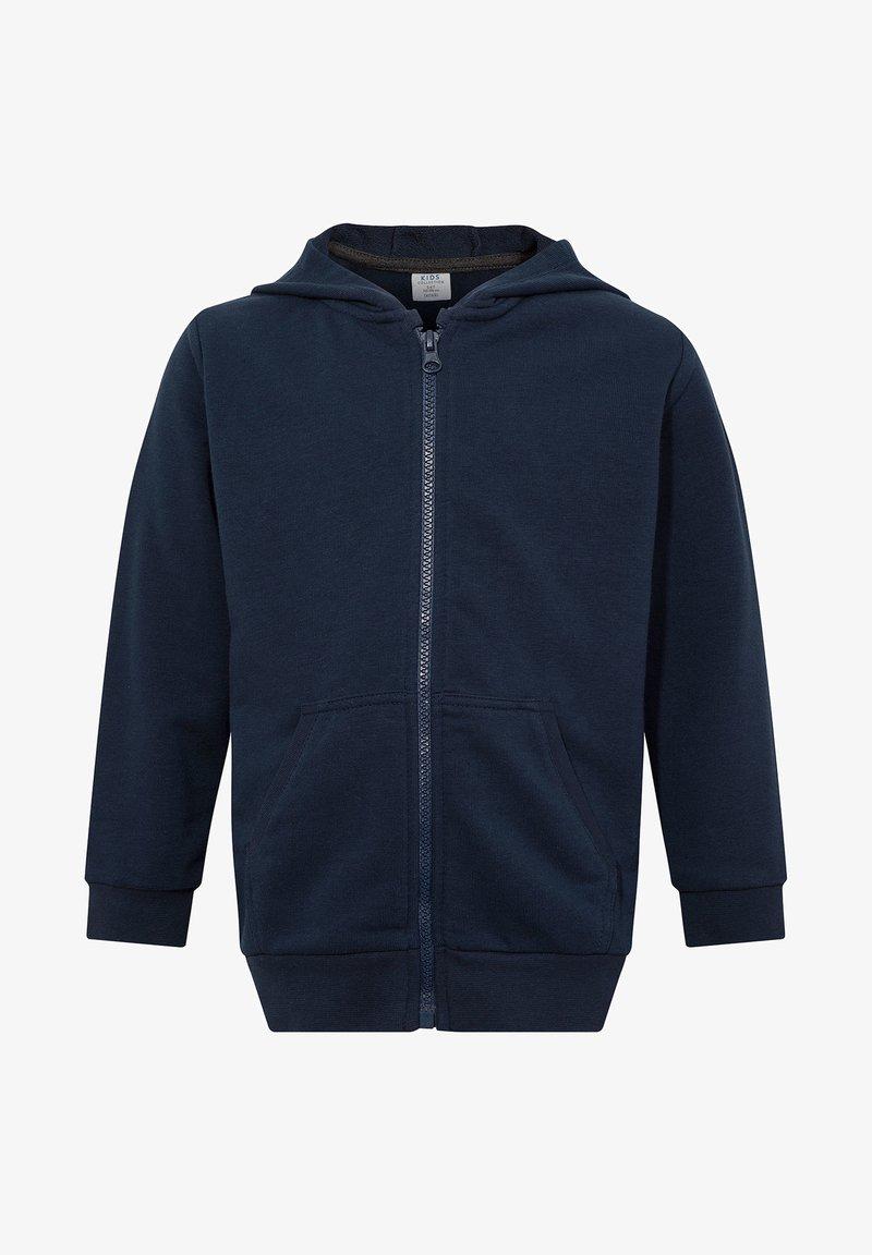 DeFacto - Zip-up hoodie - navy