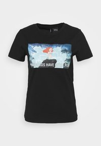 ONLY - ONLDISNEY LIFE REG BOX - Print T-shirt - black - 3
