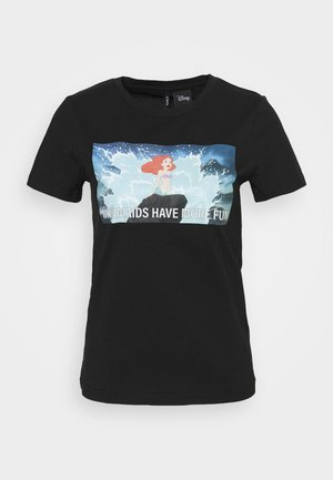 ONLDISNEY LIFE REG BOX - Print T-shirt - black