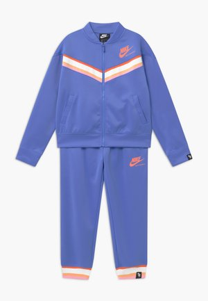HERITAGE - Tracksuit - royal pulse/atomic pink