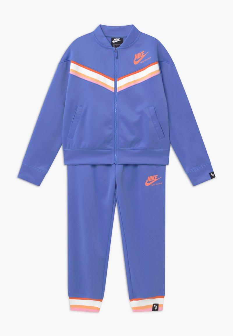 Nike Sportswear - HERITAGE - Survêtement - royal pulse/atomic pink