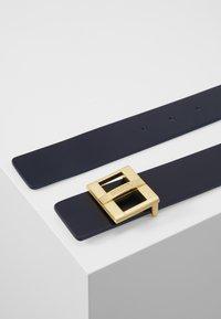 HUGO - ZITA BELT - Belt - navy/white - 1