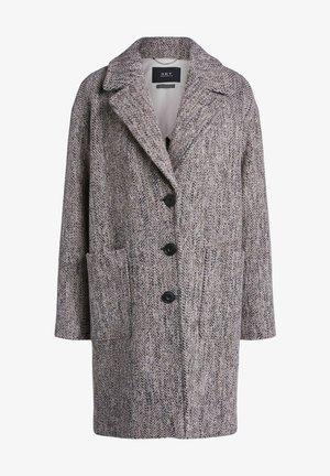 Classic coat - black camel