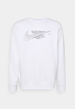 COURT CREW - Sudadera - white