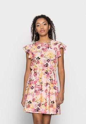 VMGIGI SHORT DRESS PETITE - Day dress - sepia rose