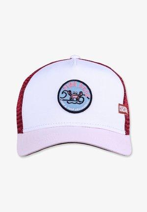 Caps - white/pink