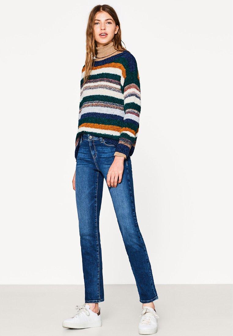 Esprit - Straight leg jeans - blue medium washed